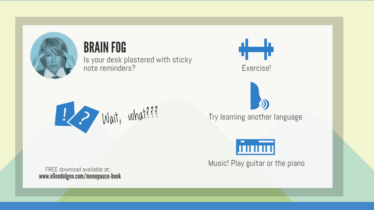 Brain Fog Infographic